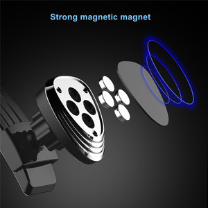 Image 3 - Magnetic Phone Holder for Car Dashboard Windshield Adjustablet Vehicle Phone Stand For iPhone8 XS XR Galaxy S10 Car Phone Mount