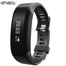 Hetngsyou оригинальный Bluetooth Сенсорный экран Смарт-браслет сердечного ритма Мониторы Фитнес трекер напоминание часы для iOS и Android
