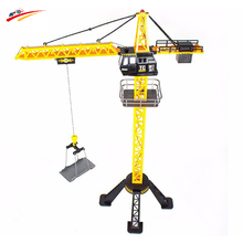 88cm RC Crane Remote Control crane tower 6 Channel Simulation Tower Crane 360 degree Rotate Crane engineer construction Toys