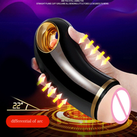 FFFSEX Realistic Silicone Vibrating Artificial Vagina Pocket Pussy Masturbator for Male Sex Machine Penis Vibrator