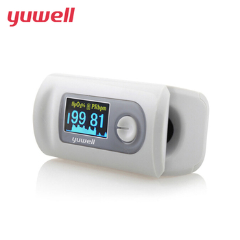 yuwell Pulse Finger Oximeter New Portable Pulse Oximeter Blood Monitor Color LED Display Oxygen Saturation Waveform SPO2 PR CE