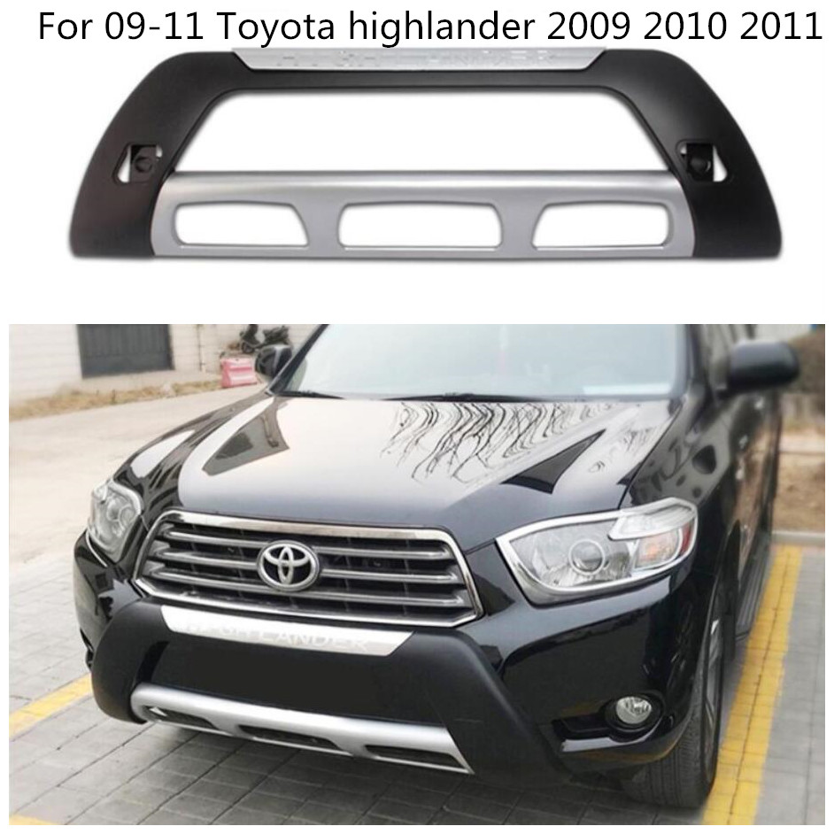 Toyota Highlander 2011 For Sale: ABS Car Front Bumper Protector Guard Skid Plate Fit For 09