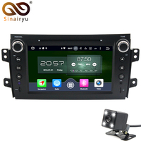 4GB RAM Android 6 0 Car Stereo For Suzuki SX4 Car DVD GPS Radio Navigation Fit
