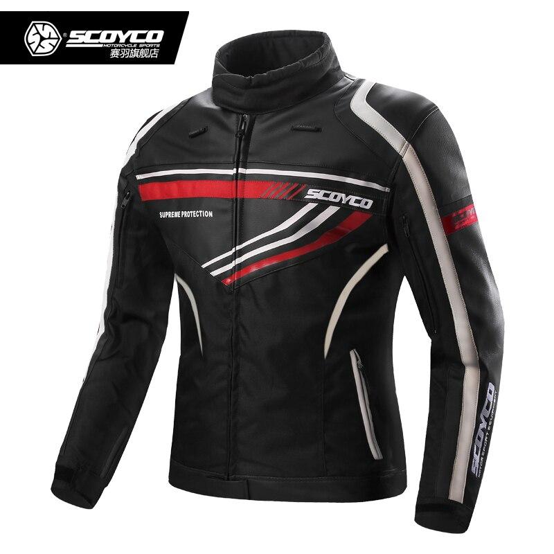 Scoyco JK37 Motocross Équitation Veste Moto Veste Ceket Moto Armure Jaqueta Sport Équipement De Vêtements De Protection