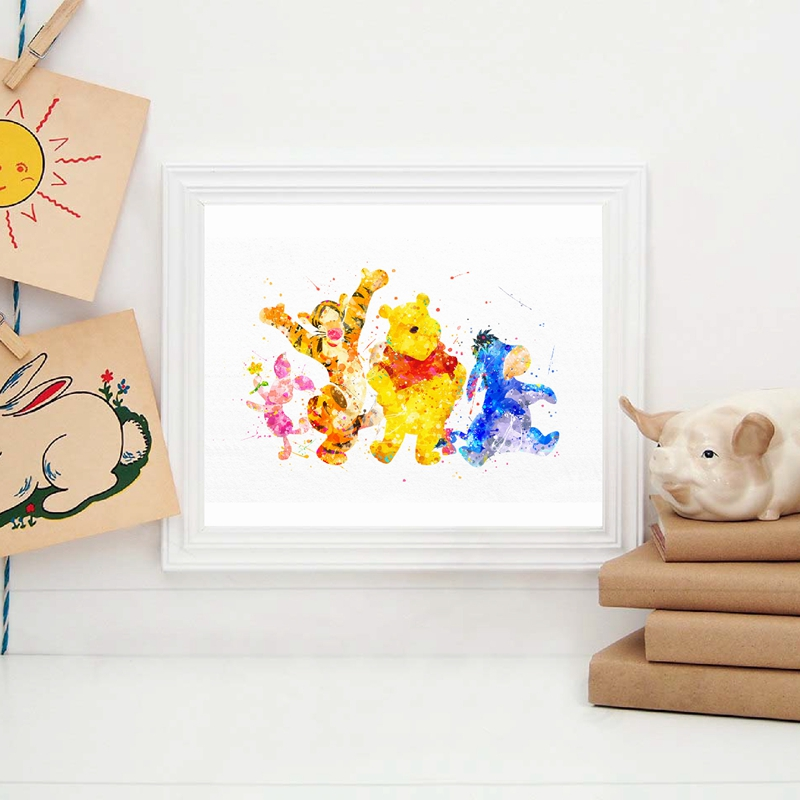 Winnie The Pooh Friendship Quote Posters And Prints Wall Art Canvas