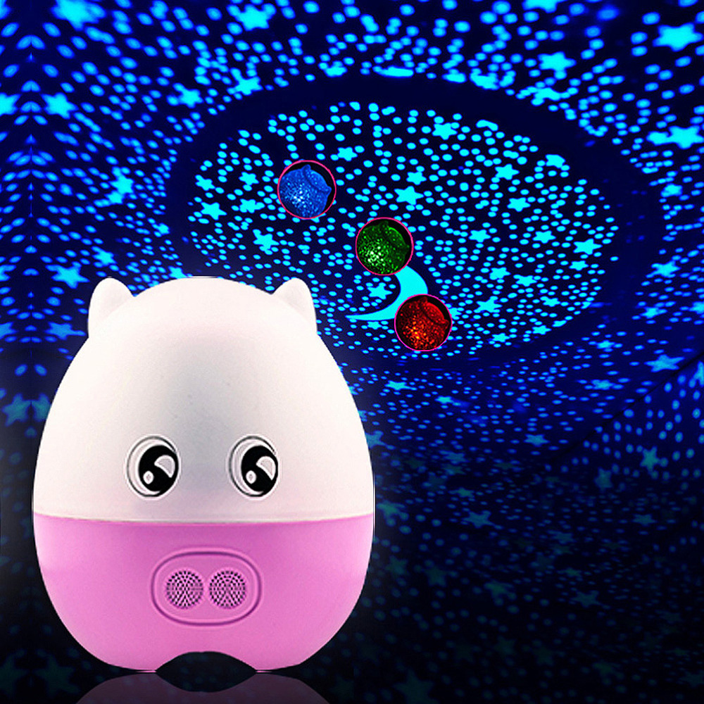 Night light projector lamp - Aliexpress Com Buy Rotating Laser Star Night Light Projector Starry Sky For Children Kids Speaker With Music Remote Control Romantic Gift For Her From