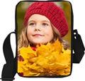 Multicolor Female Children Girls Messenger Bags Pretty Style Maple Leaf Cross body Bag Mini Shoulder Bag Women Casual Handbag
