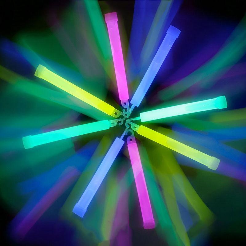 Señal de Emergencia de supervivencia Sticks Light Up Glow Rave de Halloween Deco