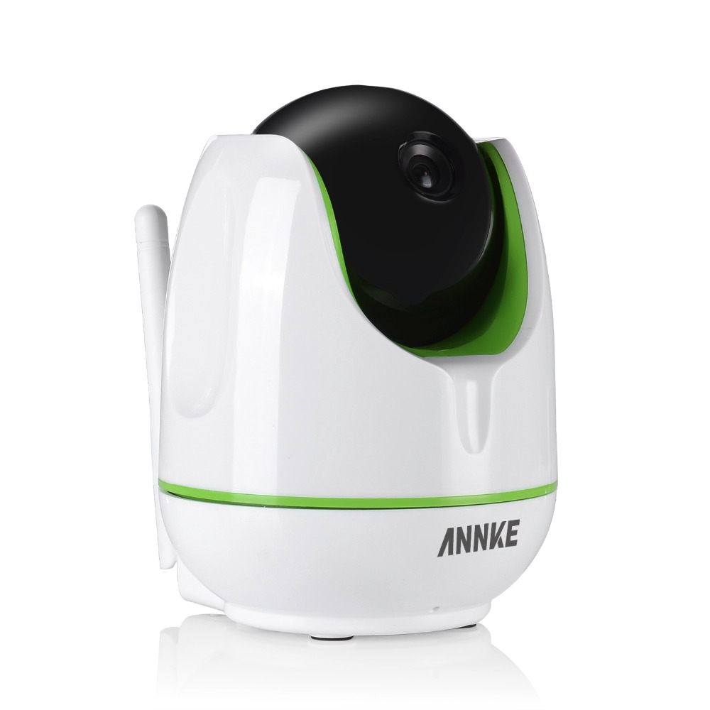 ANNKE WiFi Wireless 960P IP Camera WiFi IP Camera Two Way Audio Baby Monitor Pan Tilt Security Camera Easy QR CODE Scan Connect