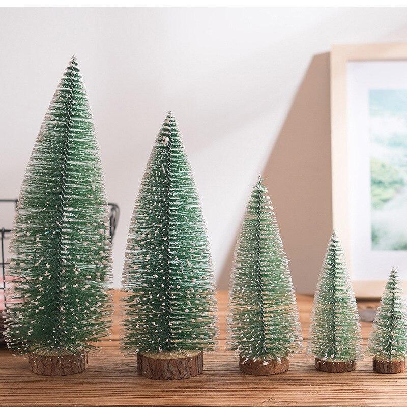 Mini Small Artificial Plant Plastic Fake Christmas Tree ...