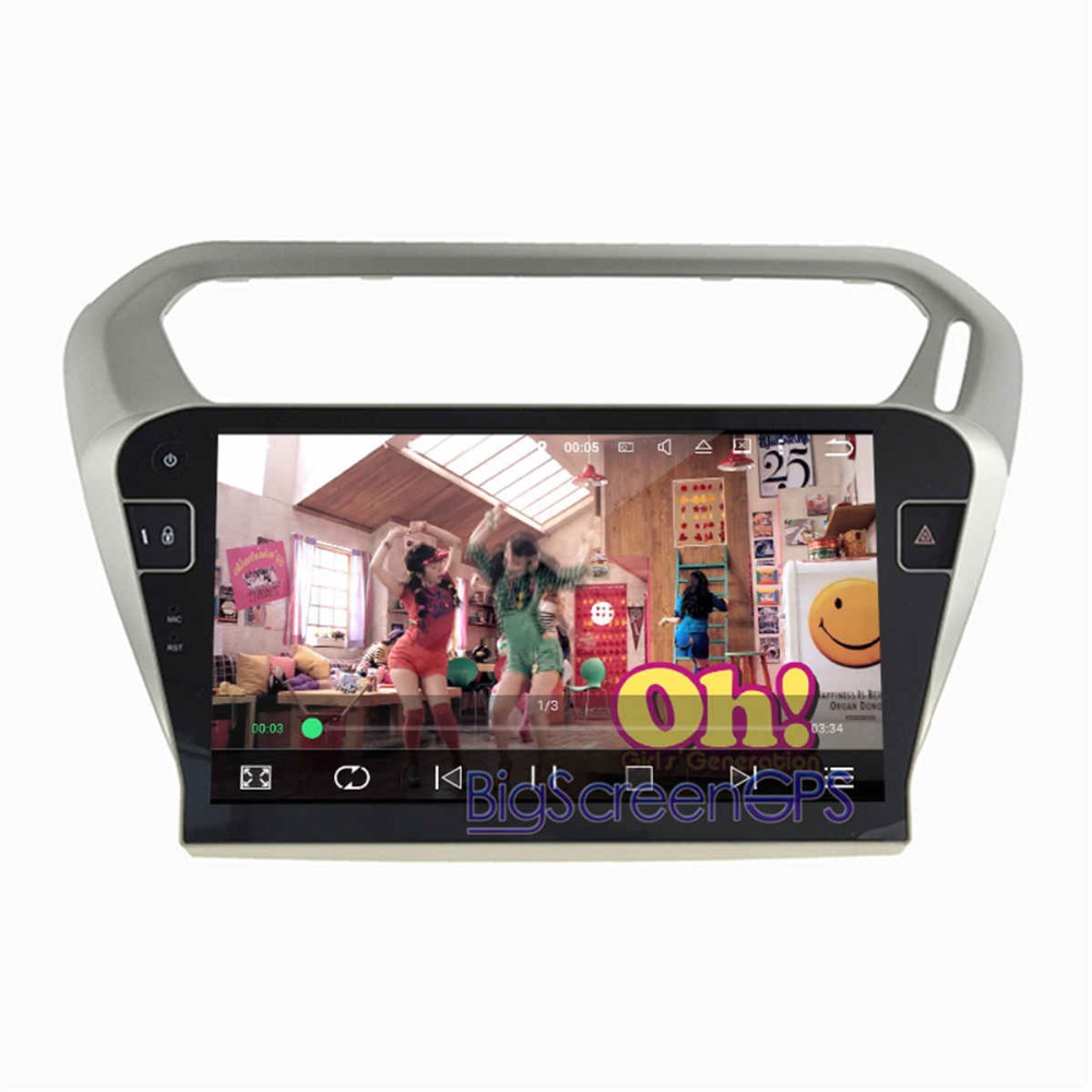 10inch Newest Android 8.0 7. 1 Car DVD Player <font><b>GPS</b></font> Navi <font><b>For</b></font> <font><b>PEUGEOT</b></font> <font><b>301</b></font> <font><b>For</b></font> Citroen Elysee 2014-2017 Satnav Recoder Unit Stereo image