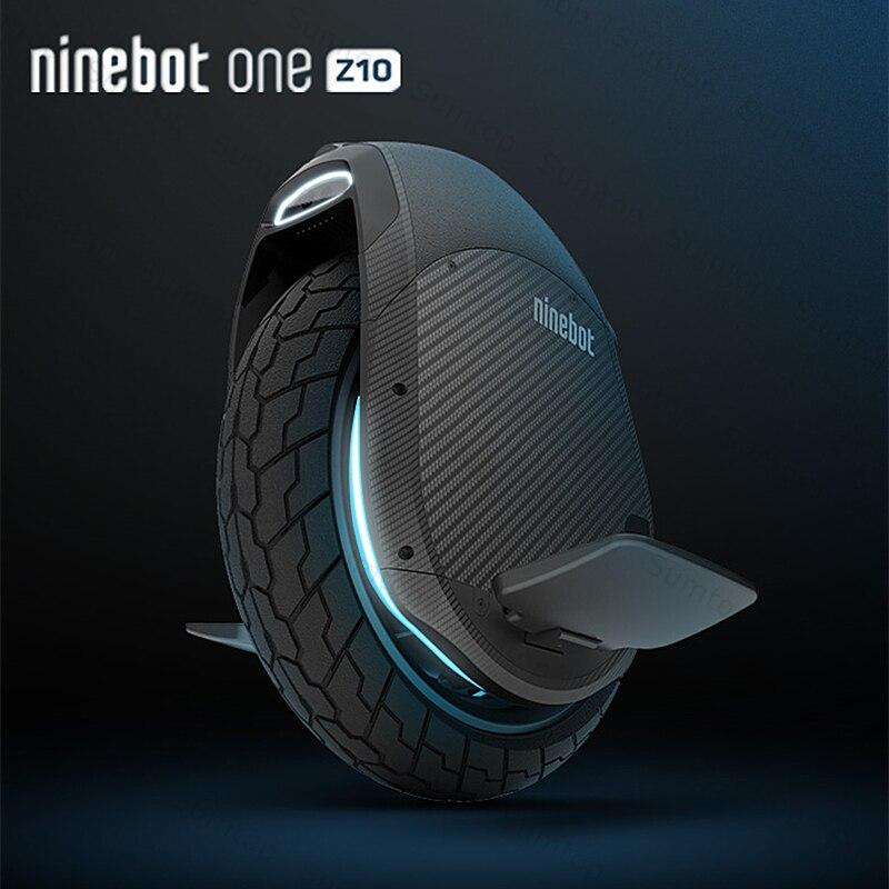 Original Ninebot uno Z10 auto equilibrio Scooter de rueda monociclo eléctrico 1800 W velocidad del Motor 45 km/h identificador construir-en hoverboard Z Z6