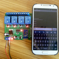 12V 4 Channel Bluetooth Relay Android Mobile Remote control Switch for Motor LED Light Lock NET