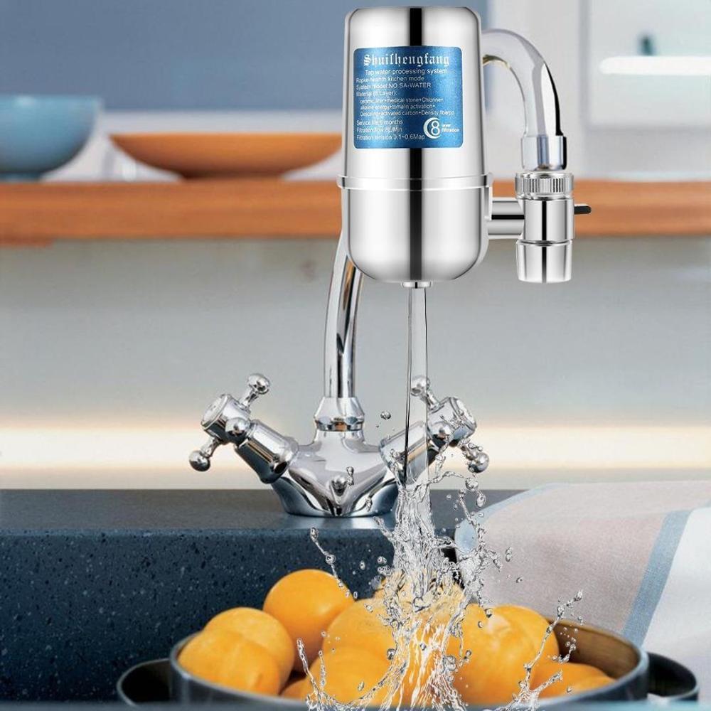 Kitchen Water Faucet Water Purifier Prefilter Water Faucet Water Ceramic Filter Cartridge Healthy Living Home