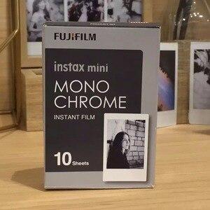 Image 3 - Nieuwe 10 Pcs Fujifilm Instax Mini Film Monochroom Voor Mini 9 8 7 S 7 50 S 50i 90 25 dw Delen SP 1 Polaroid Instant Foto Camera