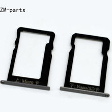 GZM-parts 3pcs/lot SIM Card Tray Micro SD Card Tray Slot Tray For Huawei Ascend Mate 7 8 S