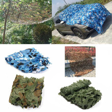 2X2M/2X3M/2X4M Hunting Camping Military Camouflage Net Woodland Toldo Net Jungle Tent Shade Sun Shelter Cloths Cover