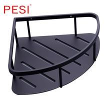 Shower Caddy Corner Shower Basket Stainless Steel Bathroom Shelves Shower Organizer Rustproof,Wall Mount,Mate Black. sunlite steel racktop rear basket black