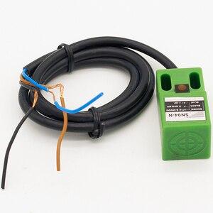 Image 3 - SN04 N 유명한 SN04N 4mm 접근 센서 NPN,3 선, NO 6 30V DC 유도 형 근접 스위치