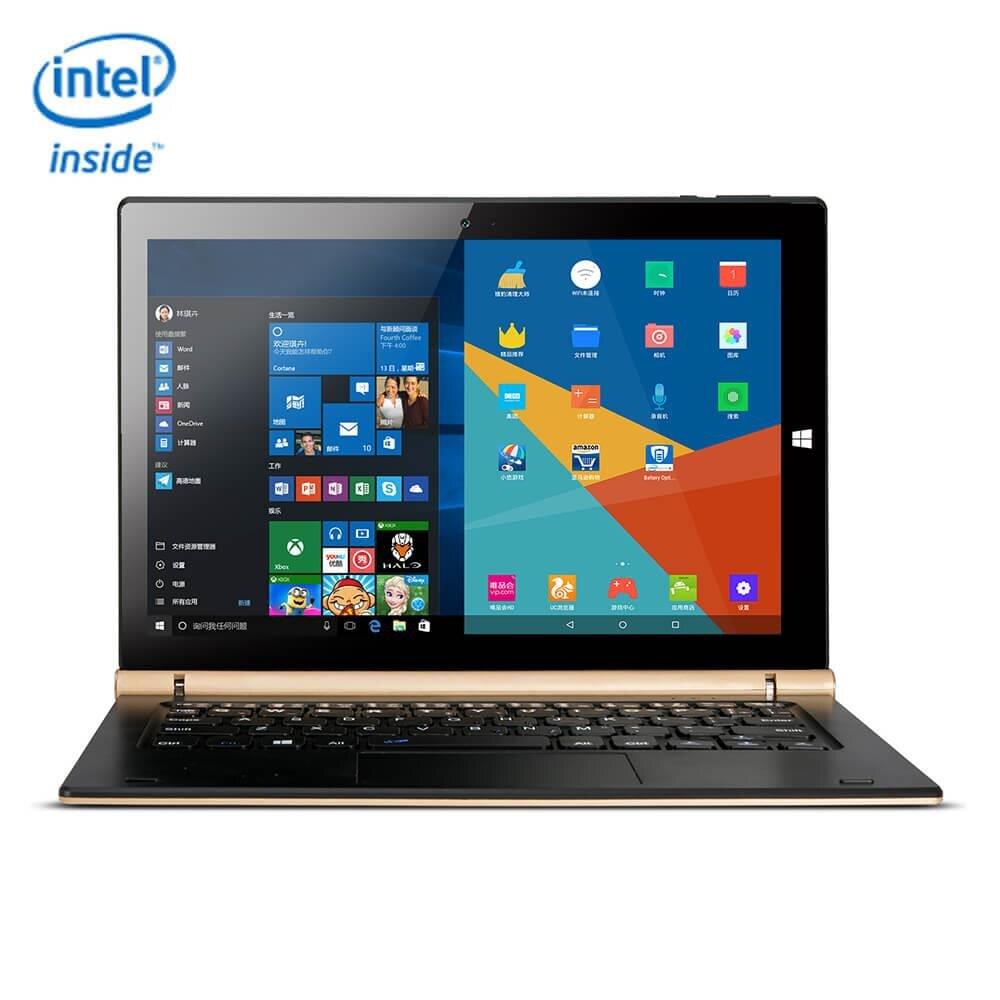 OBook 20 Plus 2 en 1 Tablet PC 10.1 pouce ordinateurs portables Double OS Windows 10 + Android 5.1 comprimés 4 GB/64 GB Quad Core 1.84G portable