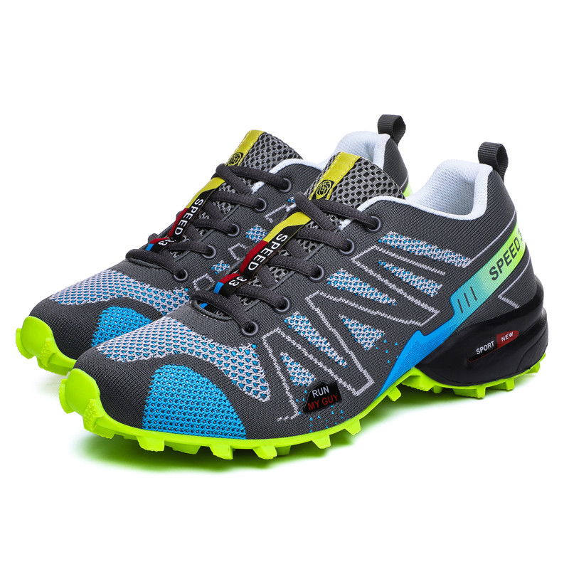 Hiking-Shoes Sneakers Speed-Cross Breathable Cheap Lightweight High-Quality With 4-Cs