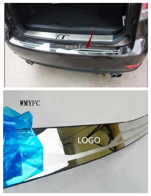 Protection de pare-chocs arrière garniture de seuil de porte de coffre 2009-2015 style de voiture en acier inoxydable pour lexus RX 450 h 350 270 accessoires
