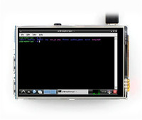 HDMI Screen 3 5 Inches Raspberry Pie Display LCD Touch Screen IO Foot Insert Easy To