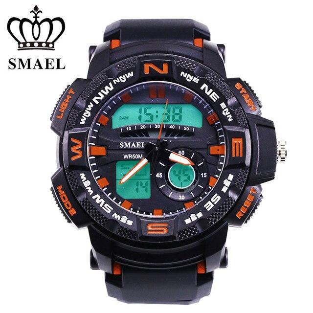 aliexpress com buy cool sport watches men waterproof led digital cool sport watches men waterproof led digital watch dual time display men s wristwatch male clock digital