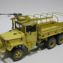 Второй мировой войны GMC M35 A2 2,5 тонн грузовой автомобиль 3D Бумага модель ди