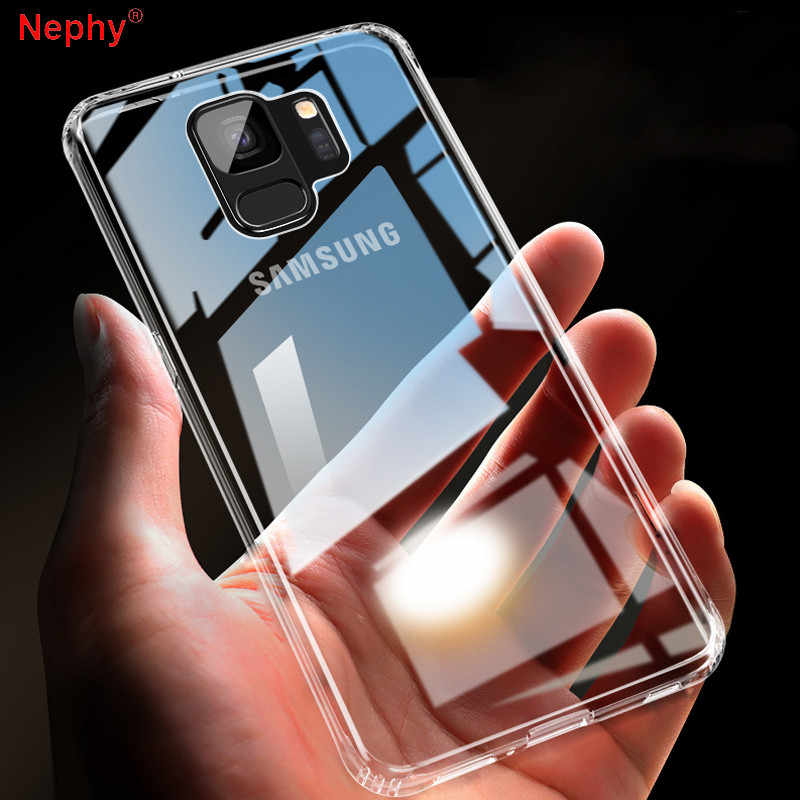 Ultra Slim Clear Case Voor Samsung Galaxy S10 E S8 S9 Plus S6 S7 Rand Note 4 5 8 9 a6 A7 A8 2018 A10 A30 A50 Hard PC Telefoon Cover