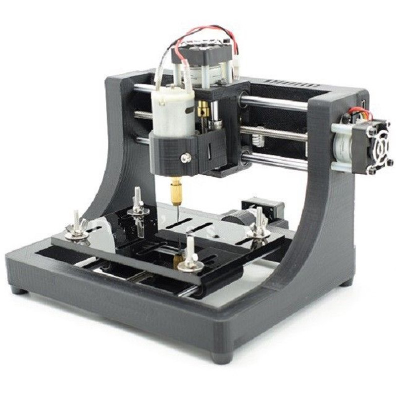 High Quality Durable 1208 3-axis Mini DIY CNC Router Wood Carving PCB Milling Engraving Machine Engraver 120x80x16mm cnc 3040 cnc router cnc machine 3 4 5 axis mini engraving machine woodworking tools diy hy 3040 high quality metal acrylic