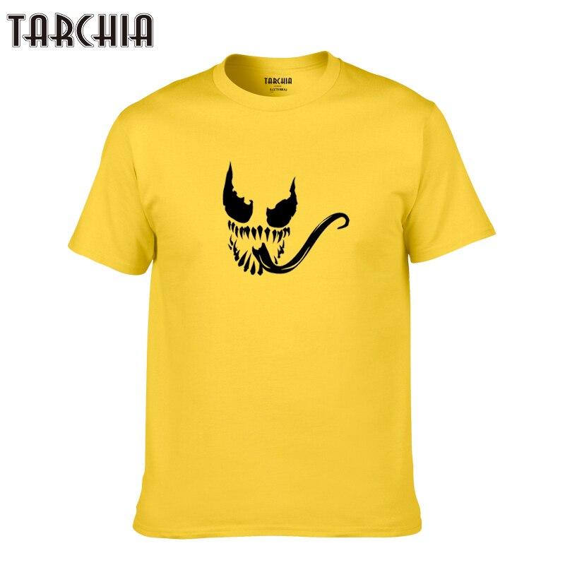 TARCHIA 2019 new summer brand Venom t-shirt cotton tops tees men short sleeve boy casual homme tshirt t shirt plus fashion