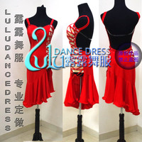 New Children S Children Latin Dance Competition Clothes Girls Dress Latin Dance Dress Latin Dance