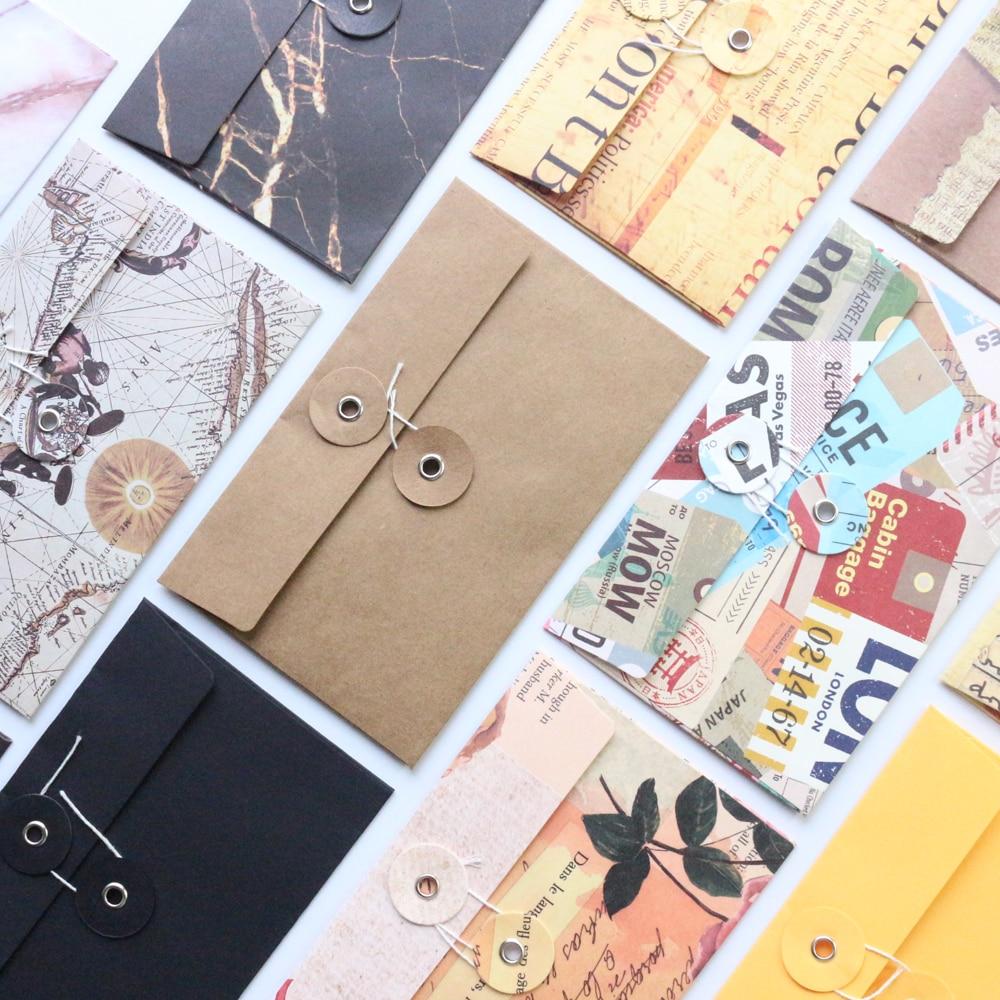 2 Größe Notebooks & Schreibblöcke Domikee Vintage Handwerk Papier Band Aufkleber Organisation Innere Füllung Tasche Für Reisenden Journal Und Binder Notebook Schreibwaren Notebooks