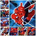 2 pcs/lot The animated cartoon puzzle paper children baby toys gifts spider picture( 21*28cm,40 pieces)