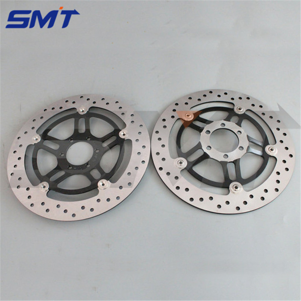 high quality motorcycle accessories front brake disc roto  For Honda Hornet 250 CB250 1996 1997 1998 1999 2000 2001 motorcycle front brake disc rotor cb250f hornet cb250 cb 250 1996 1997 98 99 2000 2001 vtr250 vtr 250 mc33 1998 2005 2006 2007
