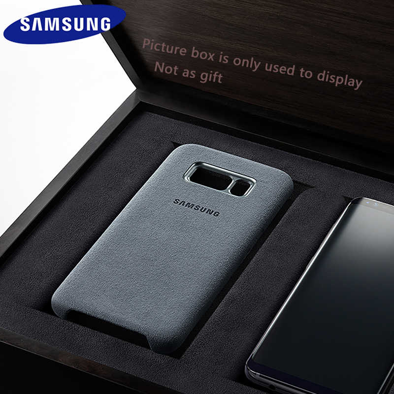 Samsung S8 Case Asli Mewah Suede Leather Case Penuh Pelindung Shockproof Galaxy S8 Cover Samsung Galaxy S8 Plus Tritone