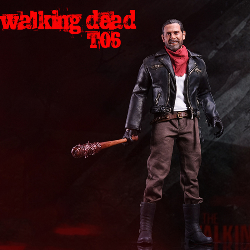 1 6 Scale ZCTOYS T06 Negan Full Set Action Figures Body Head With Accessories Toys Gifts