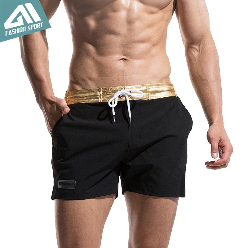 Desmiit Fast Dry Men's Board Shorts Summer Beach Surfing Man Swimming Shorts Athletic Sport Running Gym Hybrid Shorts AM2035