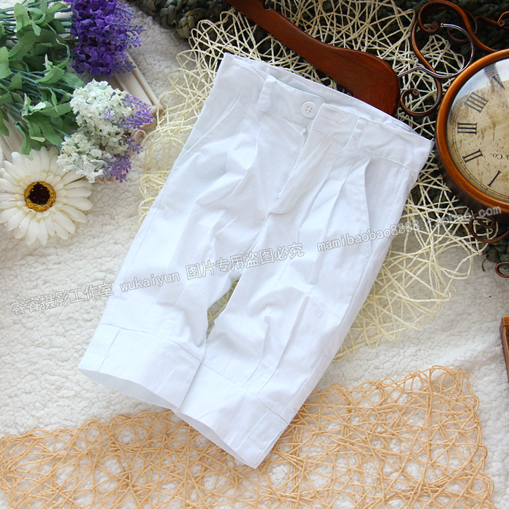 Free shipping Retail new 2014 spring children's clothing baby summer pants for girls capris pants kids all-match baby pants