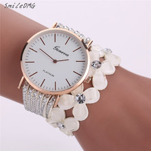 SmileOMG Hot Marketing Fashion Leisure Womens Quartz Bracelet Watch Crystal Diamond Wrist Watch  Free Shiping ,Sep 27