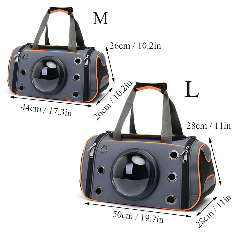The Capsule Bag Carrying Pet Cat Breathable Outdoor Portable Packaging Bag Dasyure Pets Puppy Travel Backpack