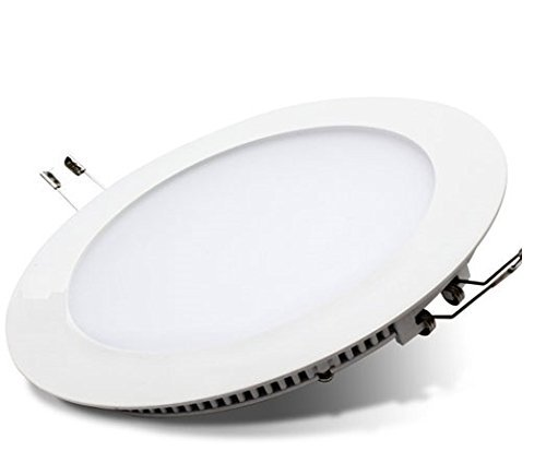 Lagpousi 18w Led Round Recessed Ceiling Flat Panel Down