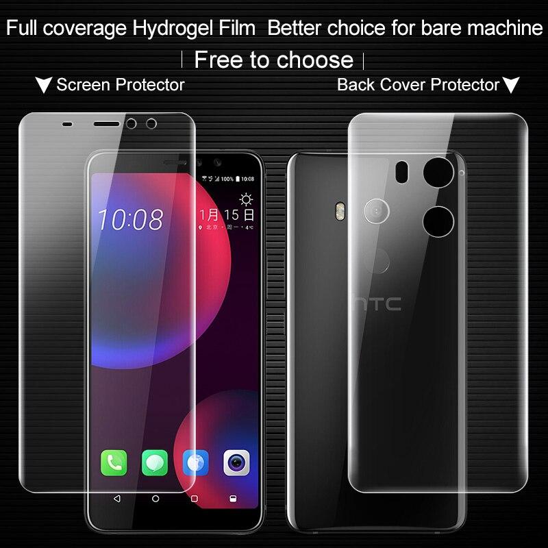 Imak Anti Glare Hydrogel 2th Gen Film for HTC U11 Eye U11+ Lite Screen Protector 3D full Cover Protector for HTC U11 Eye Film