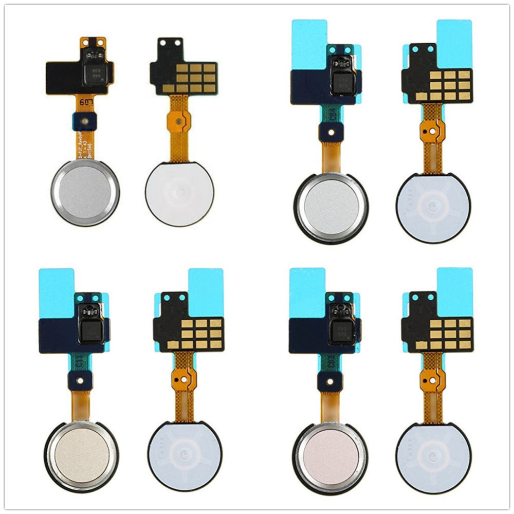 For LG G5 H820 H830 H831 H840 H850 RS988 US992 LS992 White/Gray/Gold/Pink Color Home Key Button Flex Cable