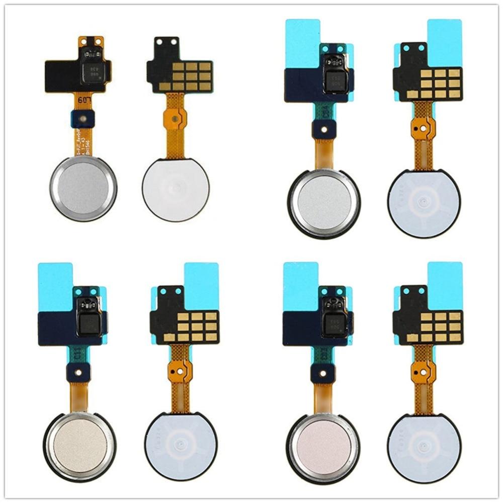 For LG G5 H820 H830 H831 H840 H850 RS988 US992 LS992 White/Gray/Gold/Pink Color Home Key Button Flex Cable