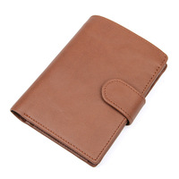 High Quality men genuine leather wallet,cow leather wallets gift for birthday,black/brown/coffee color vintage wallet