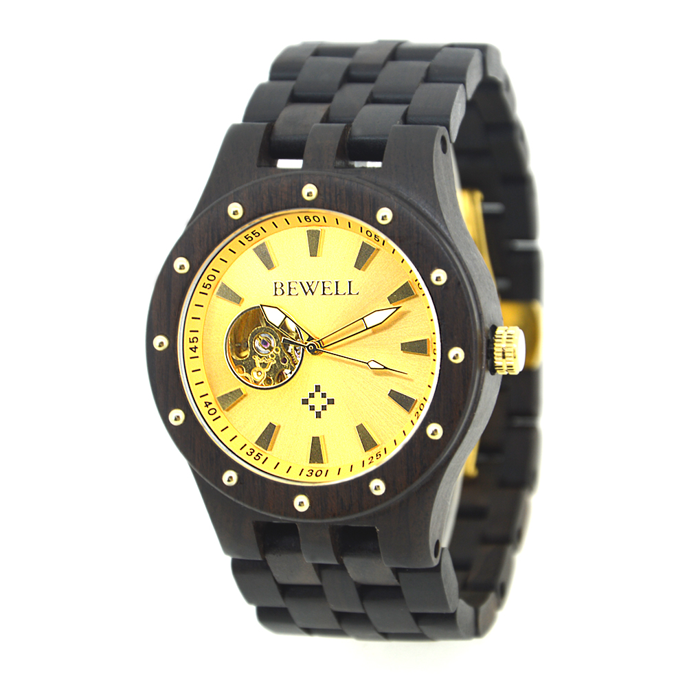BEWELL Casual Top Luxury Brand Men Relojes Mecánicos Reloj de - Relojes para hombres - foto 6