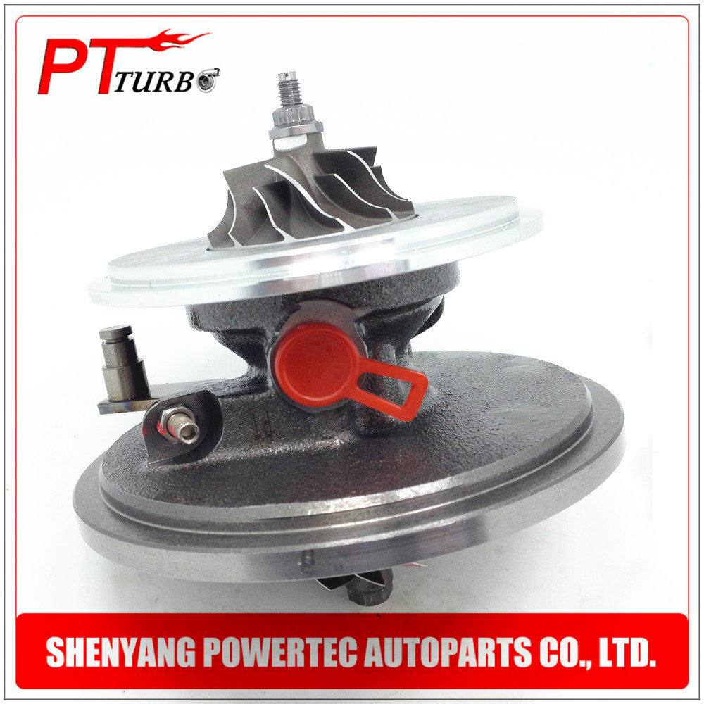 Balanced new turbo chra GT1646V 765261 756867 for Skoda Octavia II Superb II 2.0 TDI Garrett turbocharger cartridge 03G253014N turbo air intake turbo chra for skoda octavia ii 1 9 tdi turbo engine bls 77kw 105hp turbocharger cartridge core 03g253019kv