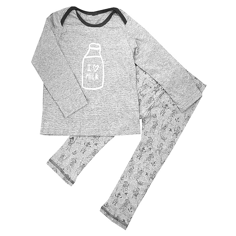 Newborn Baby clothes set Boys Clothes Short Sleeve 100% Cotton I love milk T-shirt Tops + Pants Outfit Toddler Kids Clothing Set 2pcs newborn baby boys clothes set gold letter mamas boy outfit t shirt pants kids autumn long sleeve tops baby boy clothes set